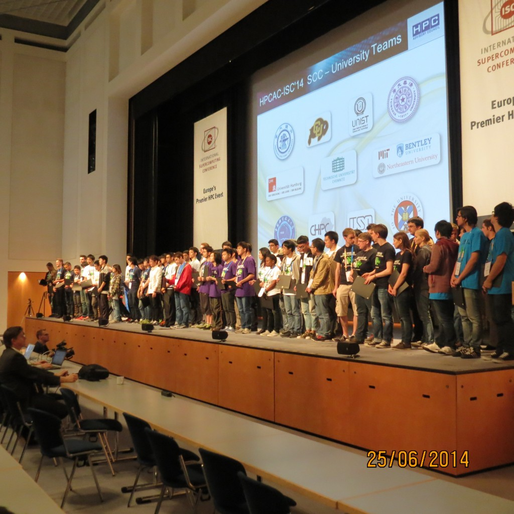 ISC14 Student teams