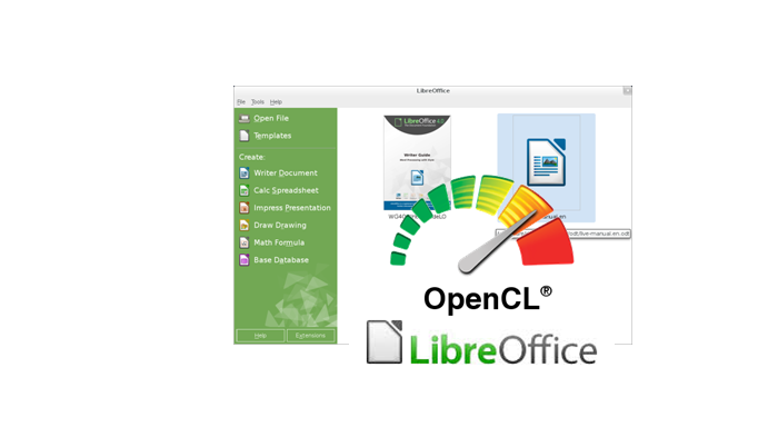 LibreOffice runs OpenCL